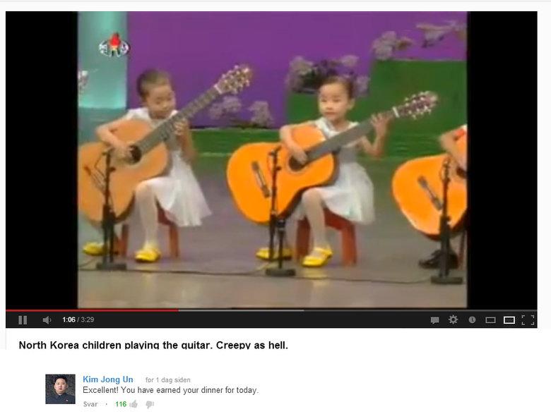 Korean guitar kids. Supreme leader. korea Guitar kids kim jong un