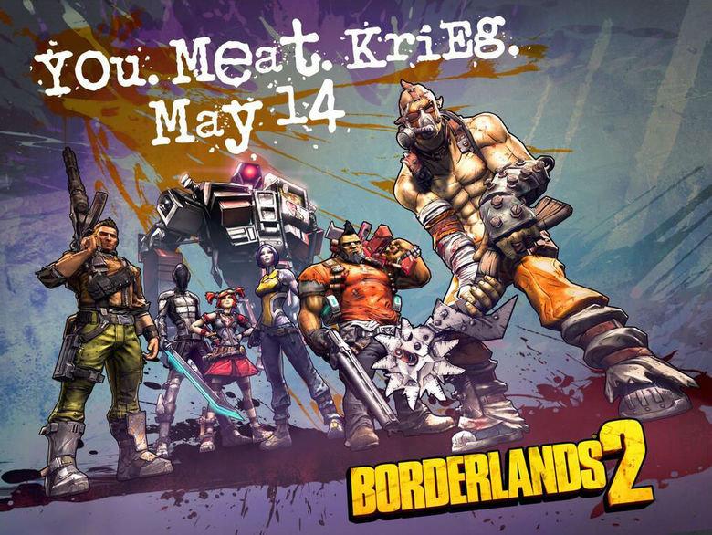 Krieg the Psycho Release Date. Source: twitter.com/ECHOcasts/status/331528893792141313.... Borderlands Krie