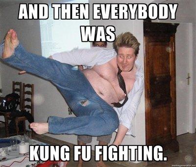 Kung Fu Fighting.. Dididididdiidii :3. kung fu