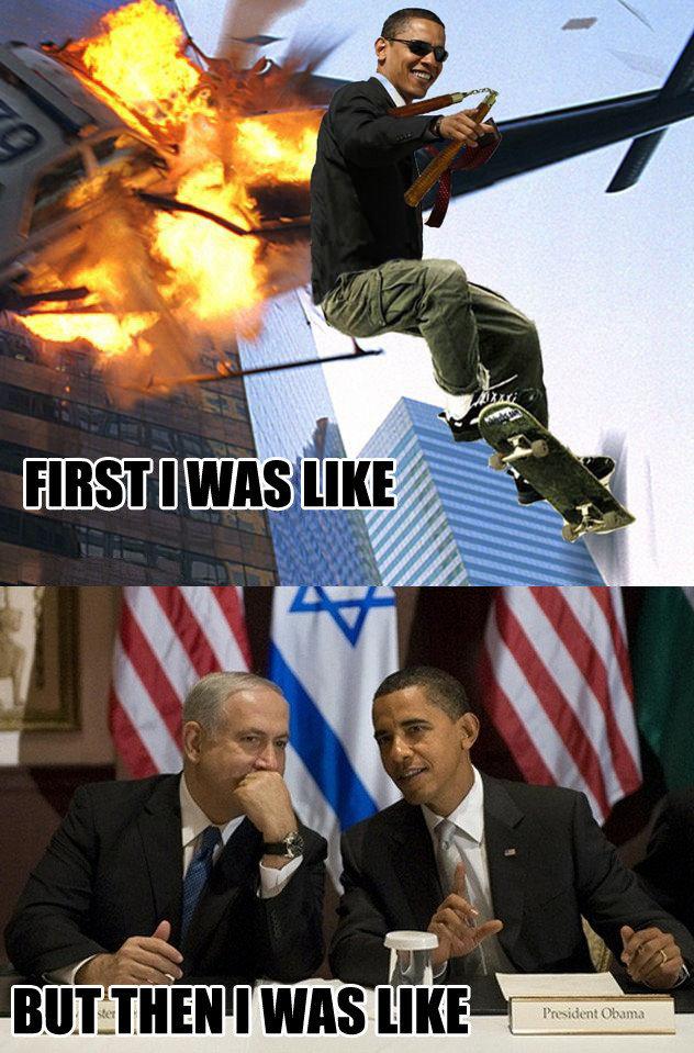 Obama yo mama. Obama da man (not mine). MrHare obama