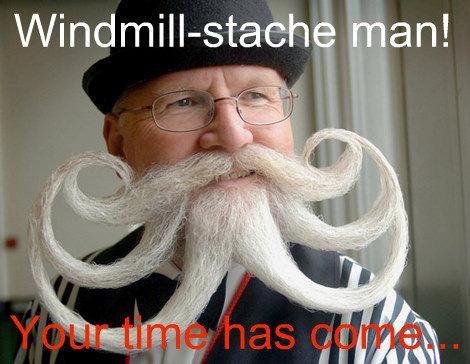 Octo-facial. Better than the windmill stache?.. its davey jones!! lol mustache Windmill Octobeard facial octo