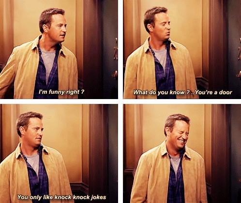 Oh Chandler. . alpa it-' u'! Iaa gran know ' Preapre .1 door. I miss friends asdasdasdasd
