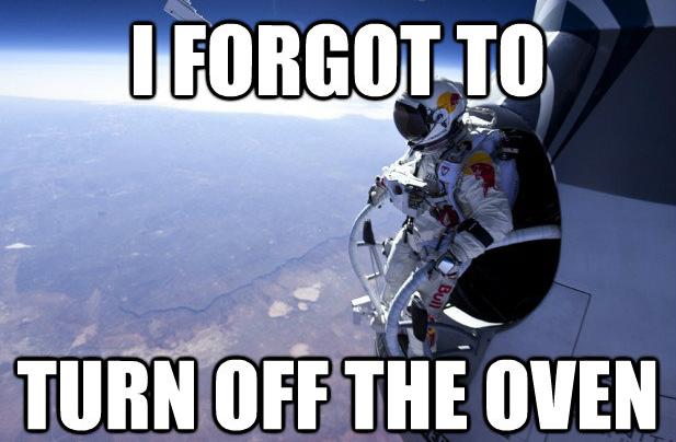 Oh, Felix. . felix baumgartne kitchen Jump Skydive Space Record