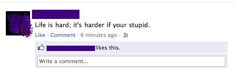 Oh the irony.... . oh the irony facebook facepalm haha funny lol