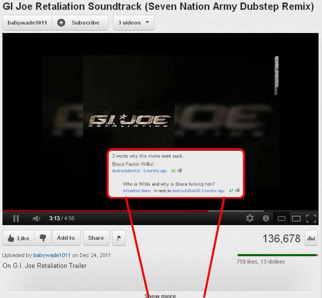 "Oh YouTube. . GI ' Retaliation 'eerm' t' ' l {Seven ' Army Dubstep Remix} dmit MIME Pl Ling L-, Mrair' ittl ', plff DH El. BE ' Trailer"" Oh YouTube GI ' Retaliation 'eerm' t' l {Seven Army Dubstep Remix} dmit MIME Pl Ling L- Mrair' ittl plff DH El BE Trailer"""