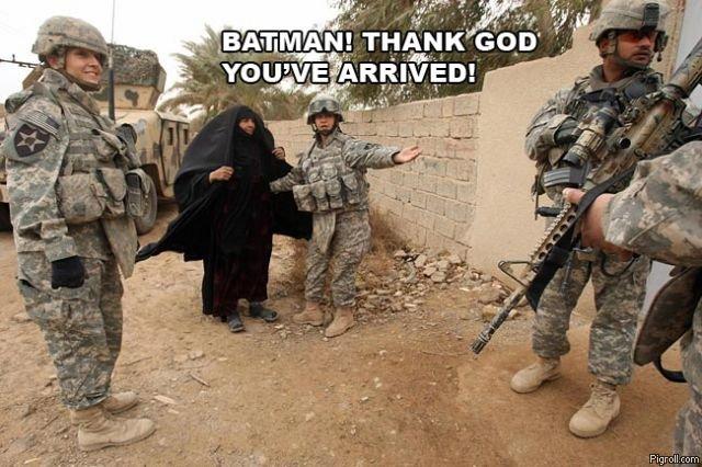 oh! thank god your here batman. batman.. BATMAN USES SELFDESRUCT!!! batman