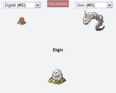 Ok. yes[greenish-gray][white][big][small]==== ====[small][big] [white][greenish-gray]. Pokemon diglett onix