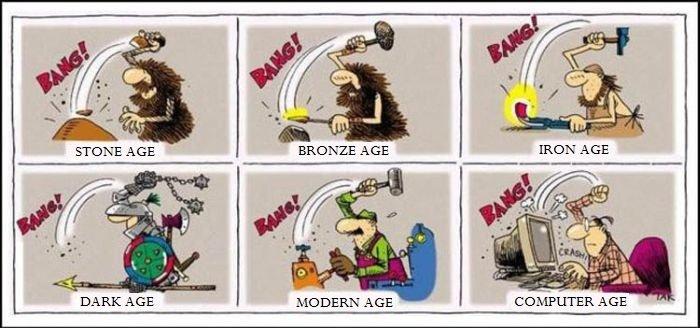 Old habits die hard. . DARKAGE MODERN AGE Bang