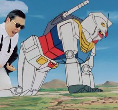 Oppa Gundam style. . Oppa Gundam style