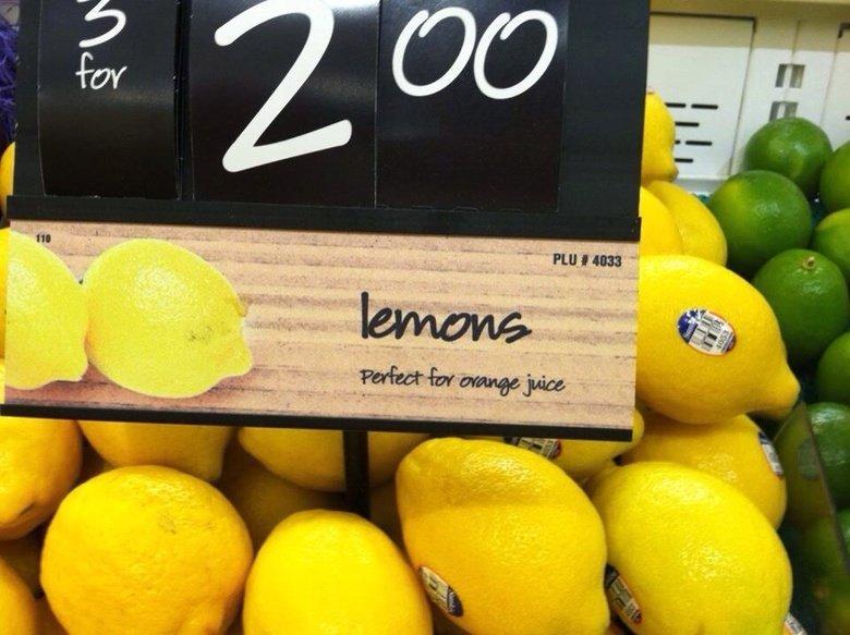 Oranges. .. To sweeten it...? Oranges To sweeten it ?