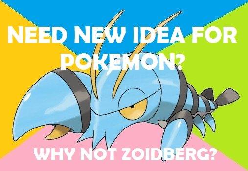 Original Idea. .. Pistol shrimp ? Pokemon X y