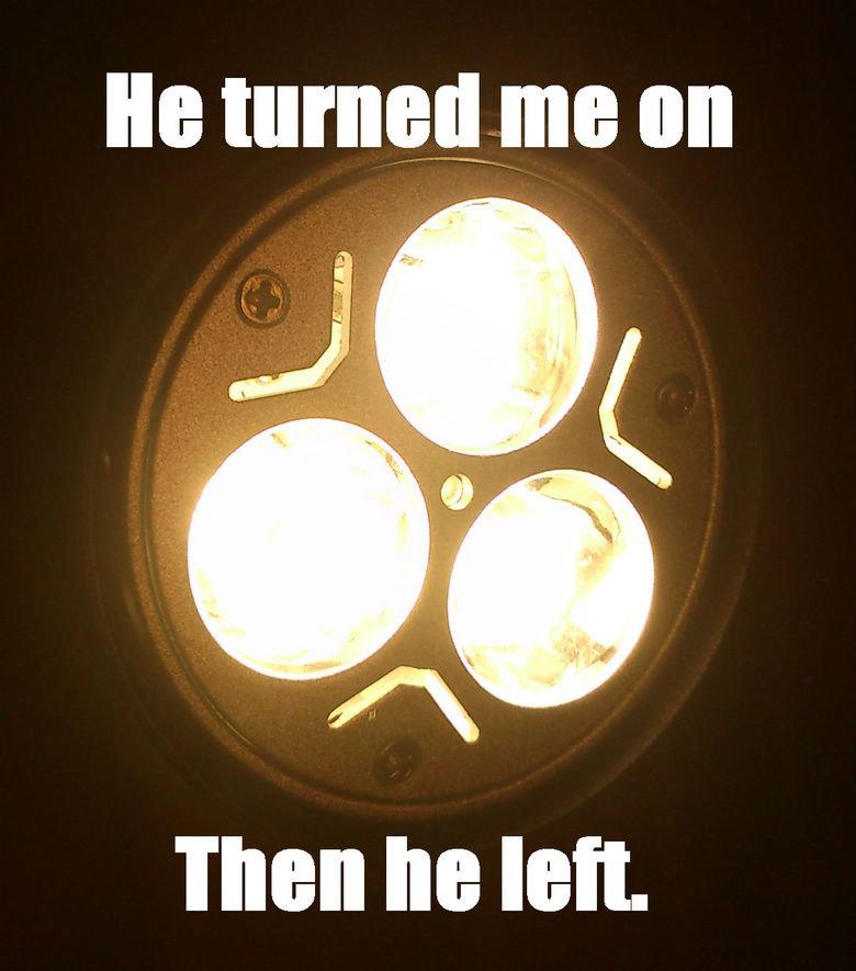 Sad lamp is sad. . Talen he left. Sad lamp is sad Talen he left
