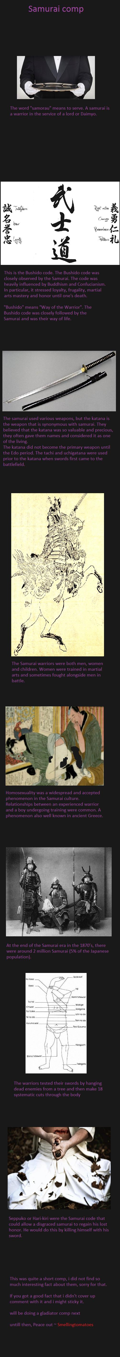 Samurai comp. . samurai