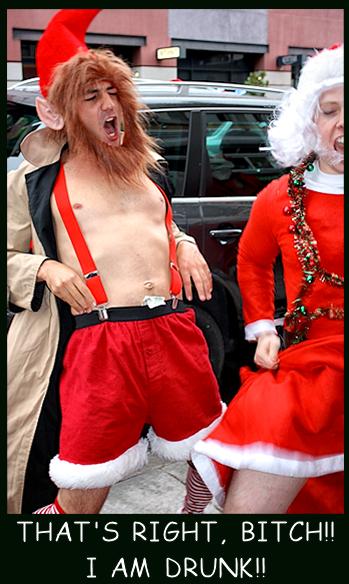 Santa Drunk. . Santa Drunk