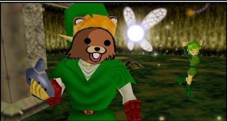Saria?. OC..I tried. Enjoy(:.. respect =D Zelda link pedobear pedo Bear saria