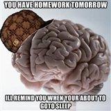 scumbag brain. . EDIE Elli? . brain is scumbag