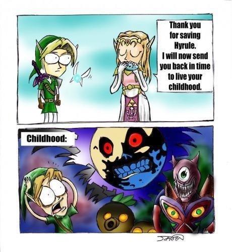 Scumbag Zelda. . zelda link