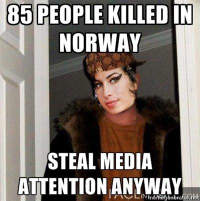 Scumbag Amy Winehouse. . l! alii' Peon: l( llooll lit OJIBWAY STEM MEDIA. this joke is dead... Amy Winehouse norway
