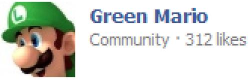 Second player. . Green Marin luigi Mario