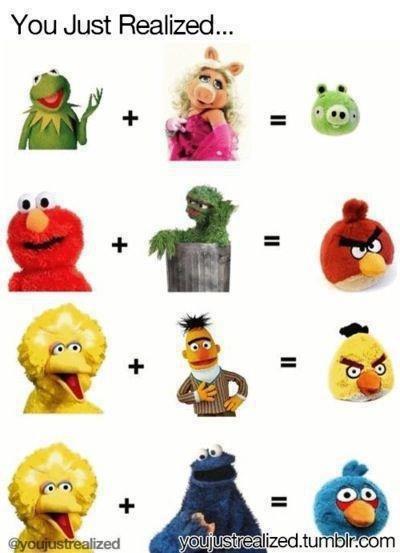 Seems legit. . You Just Realized.... Big Bird, you whore. Seems legit You Just Realized Big Bird you whore