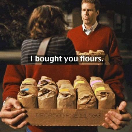 Seems legit. . I bought you flours.. what film? Seems legit I bought you flours what film?