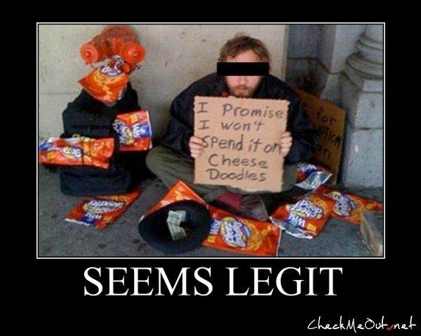 seems legit 5. seems legit 6------> /funny_pictures/2461461/seems+legit+6/.. looks legit seems legit five Awesome Dick nugget