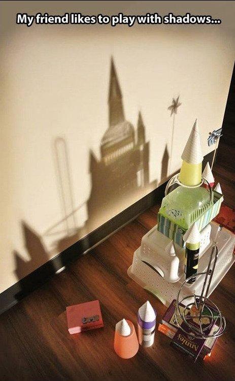 Shadows. .. HFW (Please don't ban) shadow play Castle friend