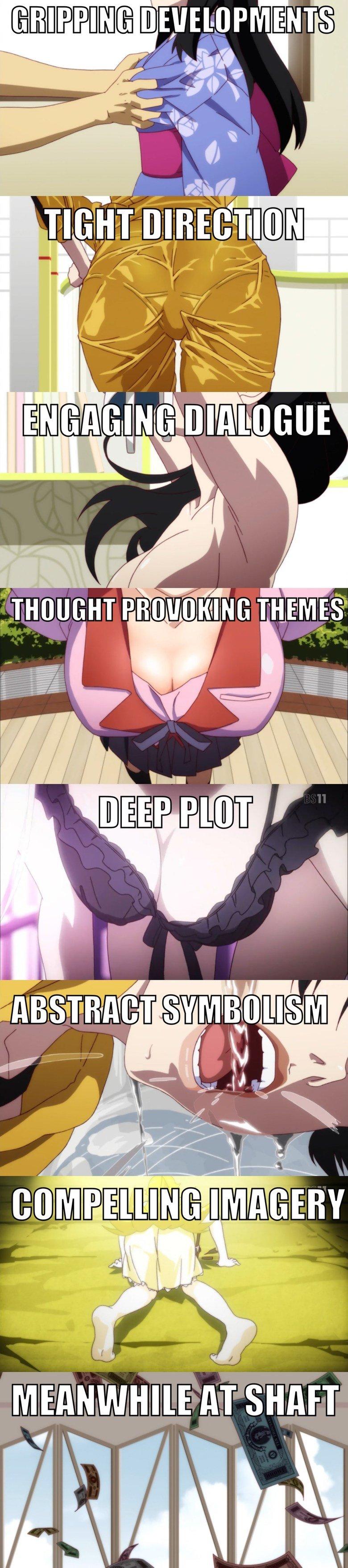SHAFT. shaft is a producer.. sir, MRS AT SHAFT ifr; Anime Shaft nekomonogatari