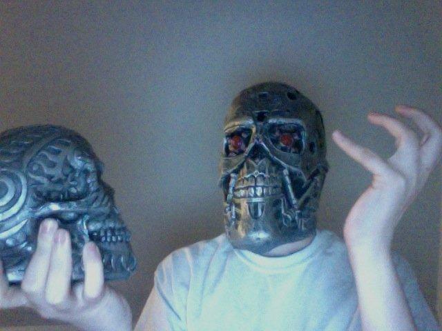 shakespear/ terminator. alas poor yorik-bot.. i lolled Shakespear skull Terminator lol la game