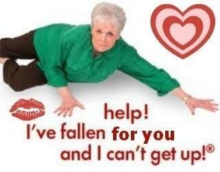 she needs love alert.. the kkk. Valentines Day