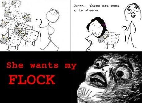 she wants my flocks. lol: tinyurl.com/btw9u2t. cuts. she wants my flocks lol: tinyurl com/btw9u2t cuts
