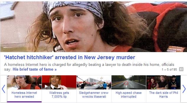 """Shouldn't have axed Jesus.. news.yahoo.com/famed-hatchet-hitchhiker-arrested-nj-homicide-231626616.html. Hatchet hitchhiker' arrested ll"""" New Jersey murder A In Shouldn't have axed Jesus news yahoo com/famed-hatchet-hitchhiker-arrested-nj-homicide-231626616 html Hatchet hitchhiker' arrested ll"""" New Jersey murder A In"""