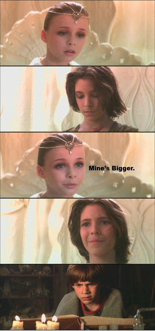Size matter. Source: Imgur. Size matter Source: Imgur