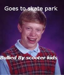 Skate par beat down. . skateboarding