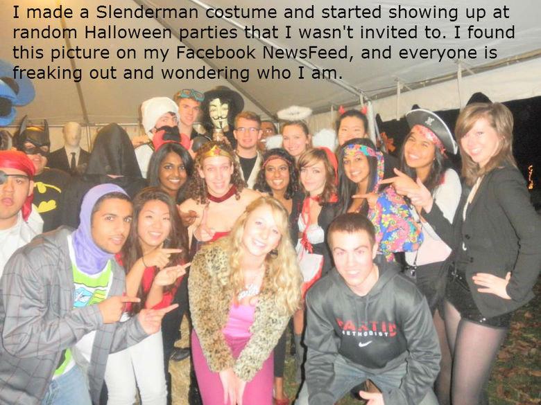 Slenderman. . Slenderman You Scary