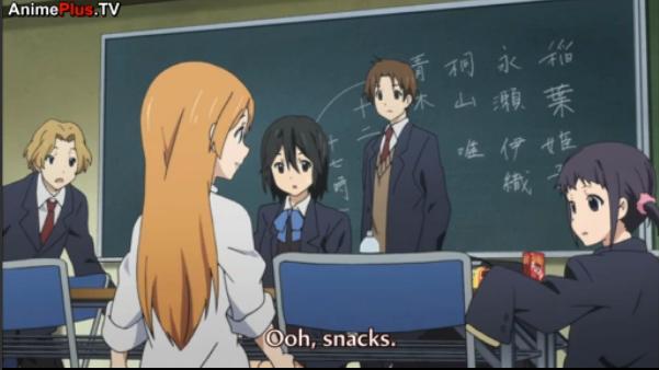 Snacks!. Hakkase in Kokoro Connect?!. Snacks! Hakkase in Kokoro Connect?!