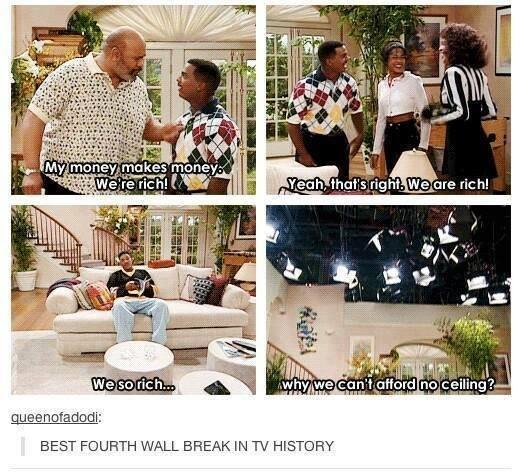 so rich. . MW gore H: h! u Ill BEST ) URTH WALL BREAK IN TV HISTORY so rich MW gore H: h! u Ill BEST ) URTH WALL BREAK IN TV HISTORY