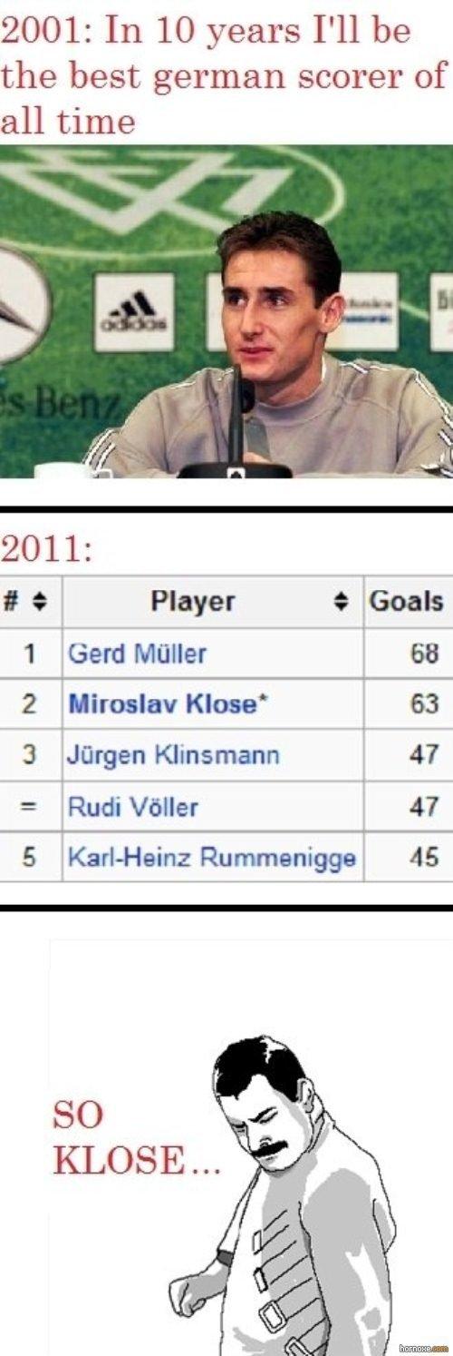 """So Klose. mal gucken obs hier deutsche gibt ist nicht meins :s. 2001: the best german scorer of 2011: I at Player t 1 miller i,, tital 2 Klose l 63 3 """"Jager, TI So Klose mal gucken obs hier deutsche gibt ist nicht meins :s 2001: the best german scorer of 2011: I at Player t 1 miller i tital 2 l 63 3 """"Jager TI"""
