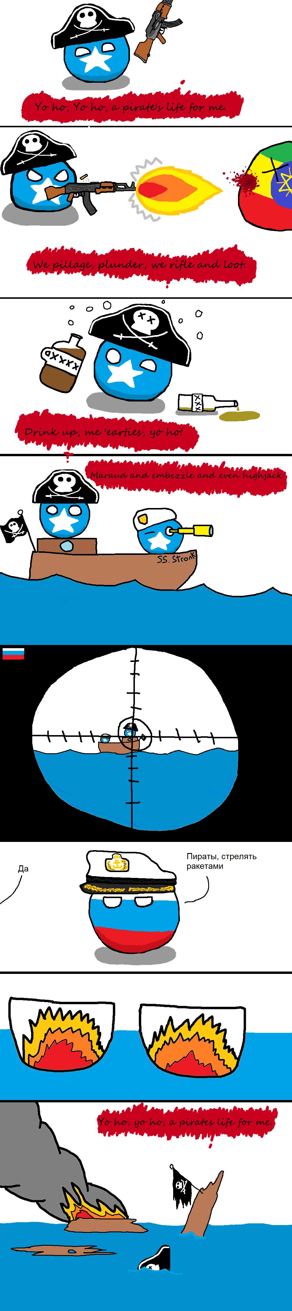 Somalia.. . Polandball