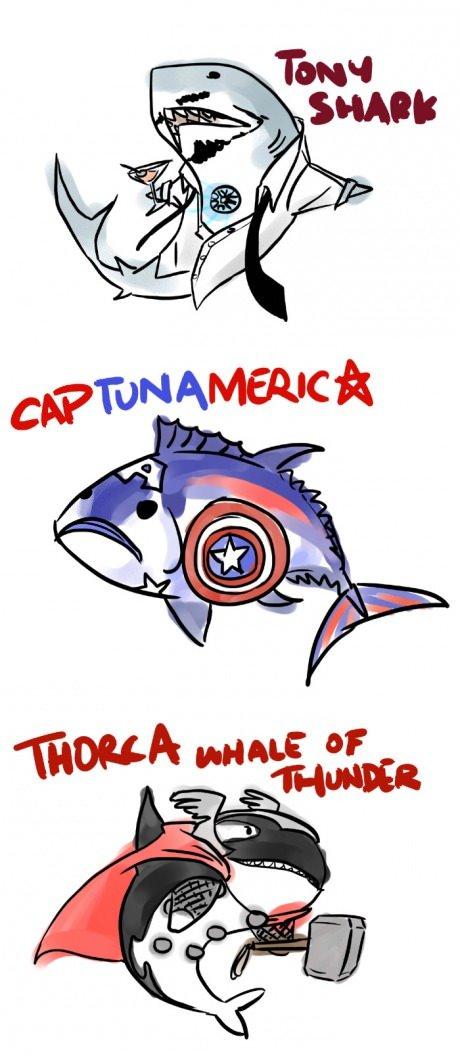 Somethings fishy.... .. Iron Manatee? Somethings fishy Iron Manatee?