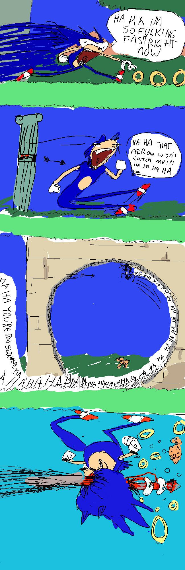 "Sonic runs into a problem. . Eii' lla Lqg CEI riid i"" gail intill i' efil. I loled. Sonic runs into a problem Eii' lla Lqg CEI riid i"" gail intill i' efil I loled"