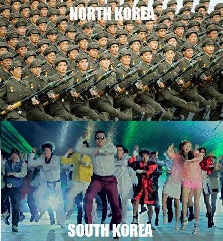 South Korea u so silly. .. MFW I realize those aren't rifles South Korea u so silly MFW I realize those aren't rifles