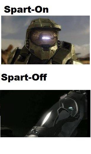 Sparton Spartoff. . Master Chief