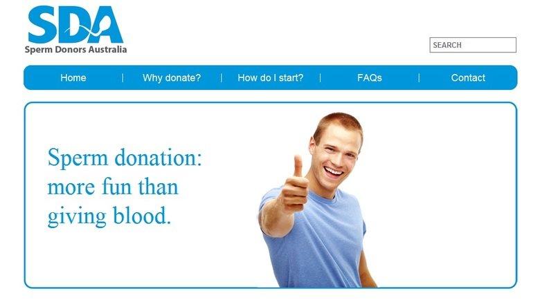 Sperm Donation. hmmmmm...... telli Sperm Donors Australia Sperm donation: more fun than giving blood. Sperm Donation hmmmmm telli Donors Australia donation: more fun than giving blood