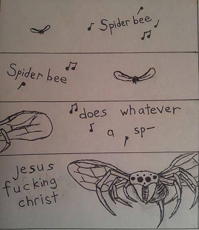 Spiderbee. . Spiderbee