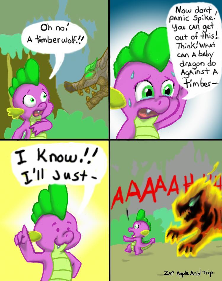 Spike has a great idea. Up . Spike has a great idea Up