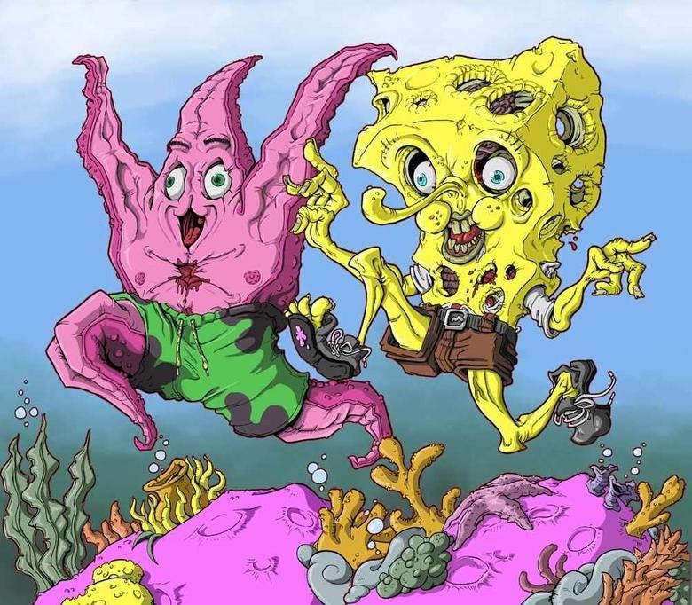 Spongebob-creepy-pants. Found this on the internet, just creepy.. Spongebob-creepy-pants Found this on the internet just creepy