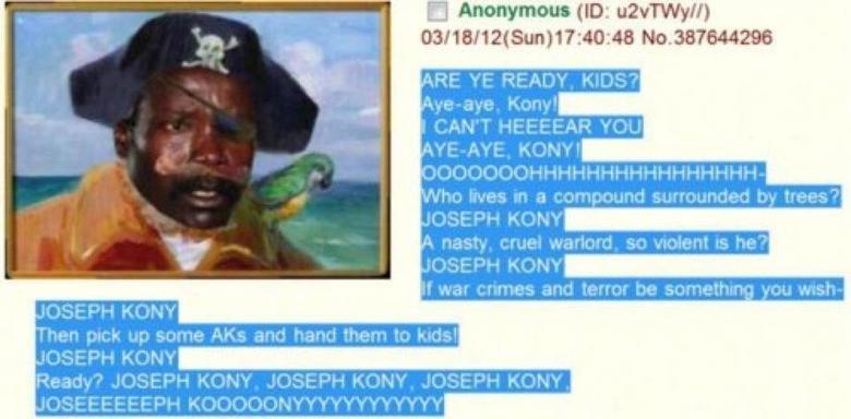 Spongebob. Joseph Kony, sorry if repost.. Kony