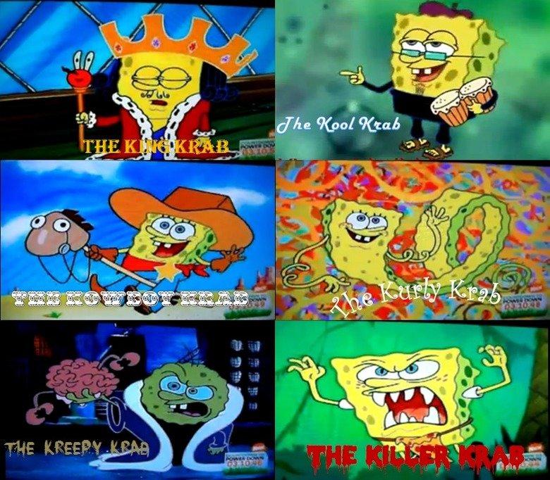 Spongebob. Names for the new krusty krab. spongebob krusty krab krabby patty killer krab kreepy krab kurly krab kowboy krab kool krab