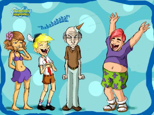 spongebob. .. Patrick looks like Perez Hilton D: spongebob Patrick looks like Perez Hilton D: